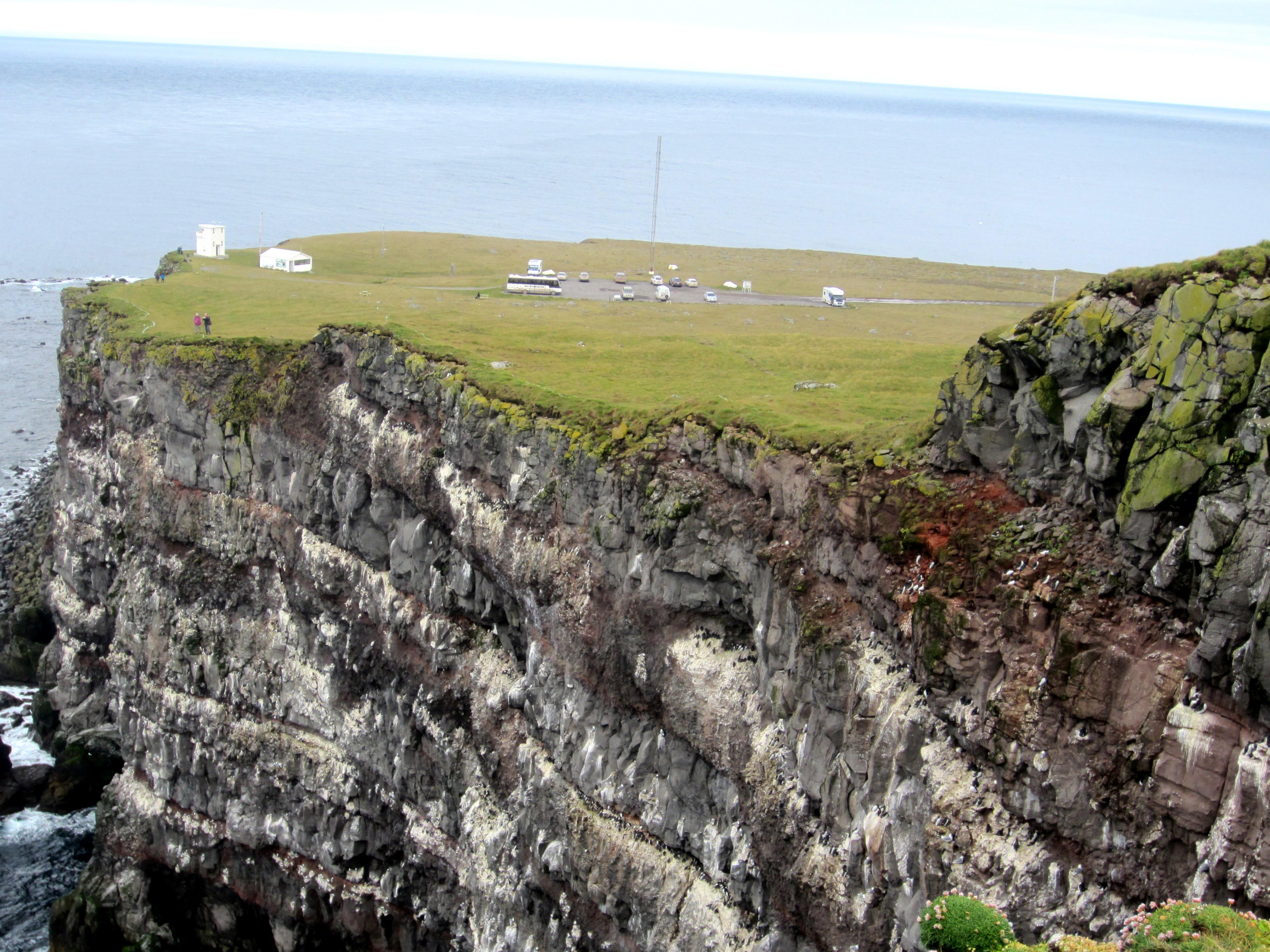 Látrabjarg Bird Cliffs Iceland Látrabjarg Bird Cliff in The