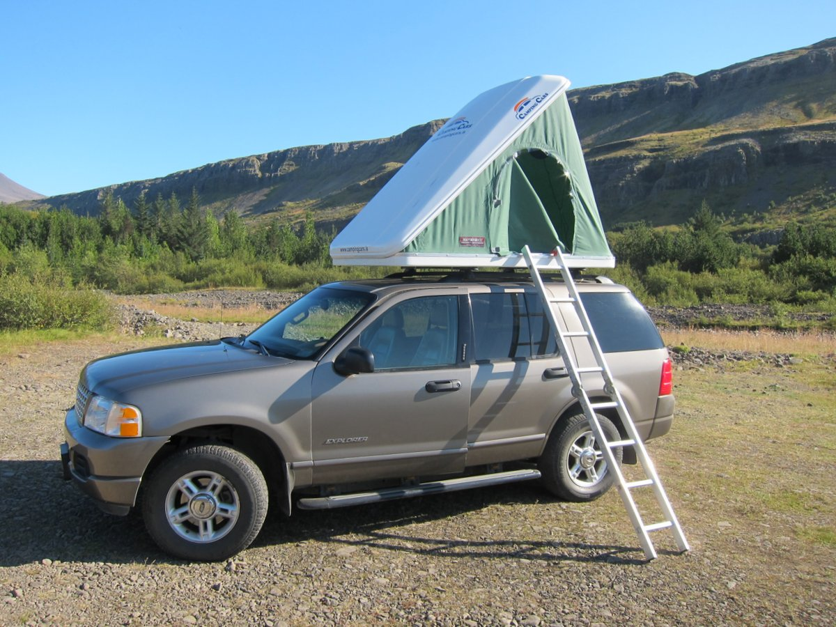 Ford Explorer Or Similar Roof Top Tent And All Camping