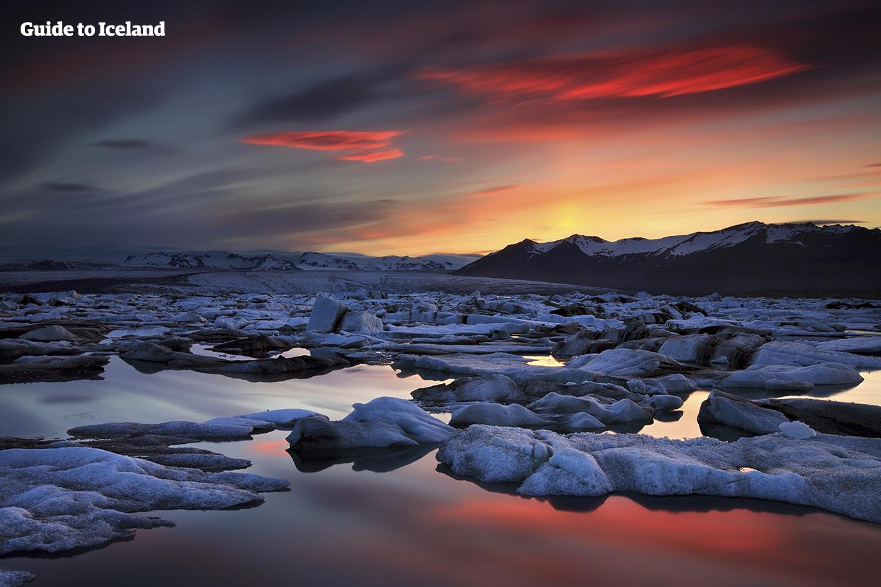 Image result for Jökulsárlón Glacier Lagoon, Iceland