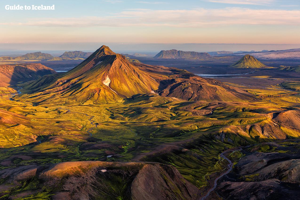 Island Berge