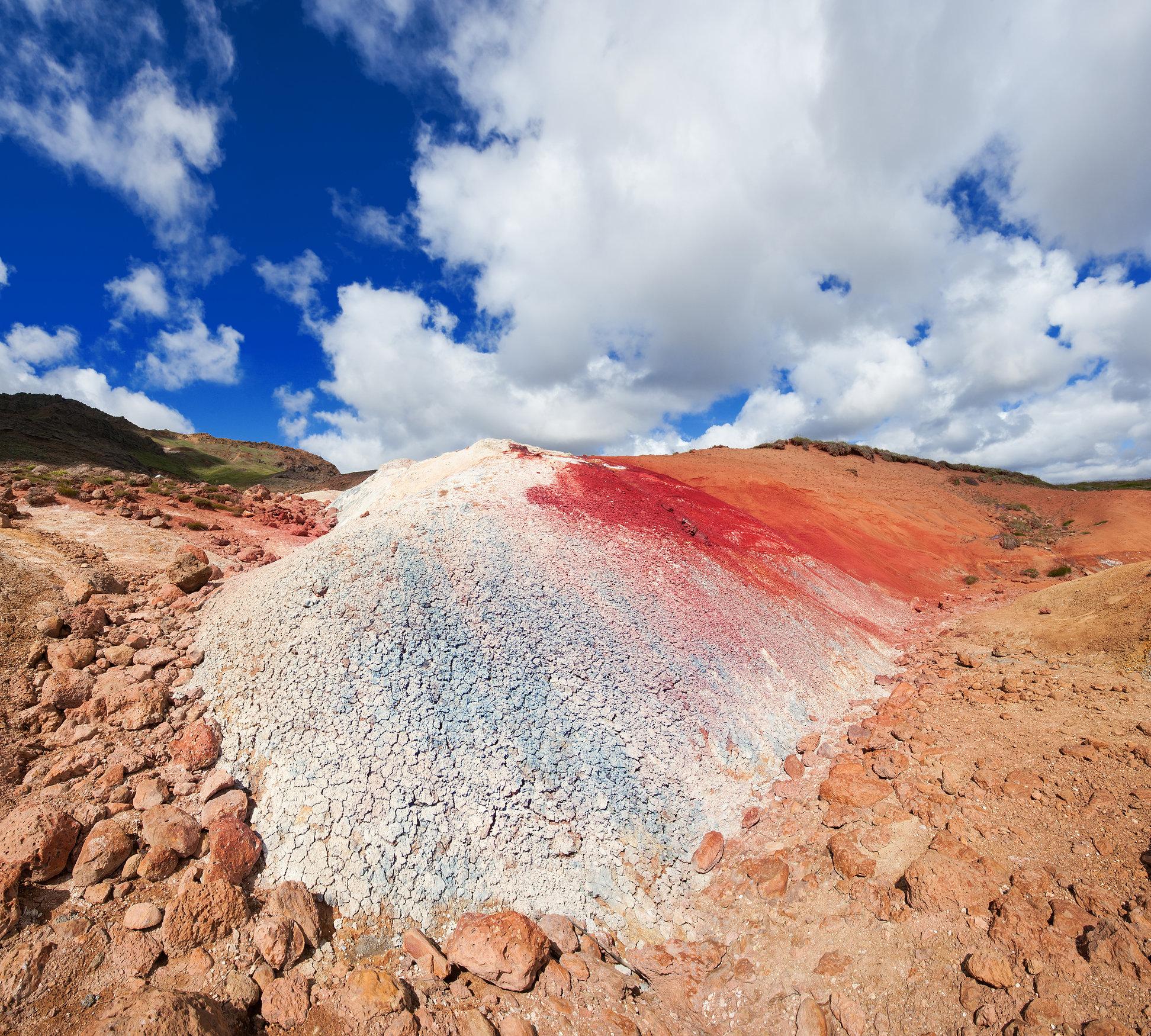 Islande Kerio Volcan