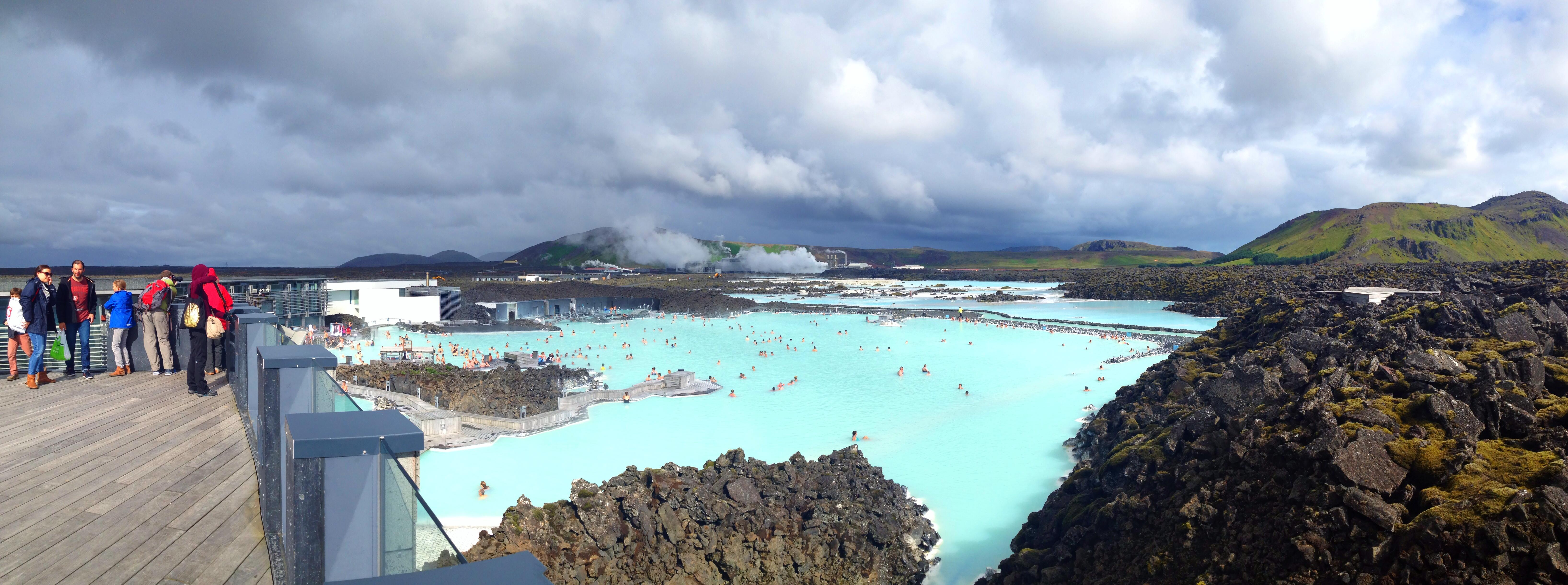 冰岛著名蓝湖地热温泉 - blue lagoon