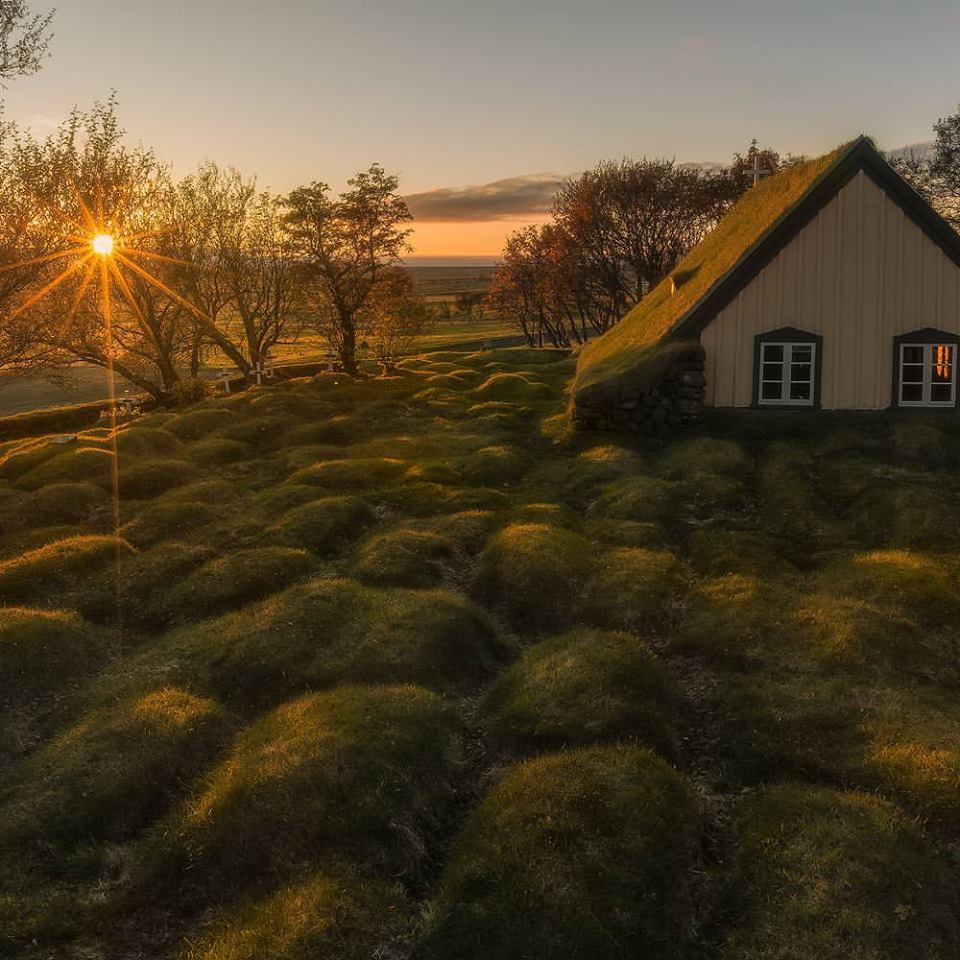 Ordinary Find A Church Building For Rent #3: Hofskirkja-turf-church-in-oraefi-in-south-east-iceland-the-youngest-of-iceland-s-turf-churches-1.jpg