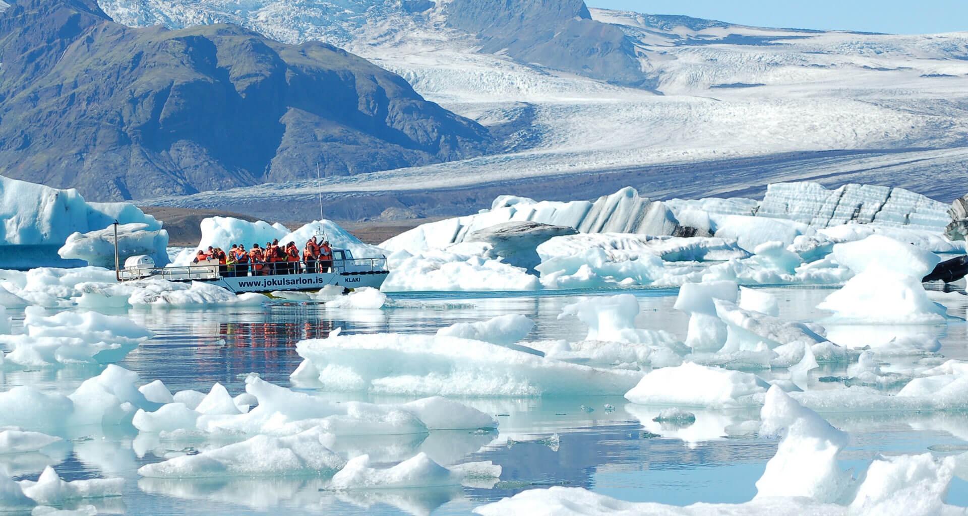 Jokulsarlon Amphibian Boat Tour Guide To Iceland
