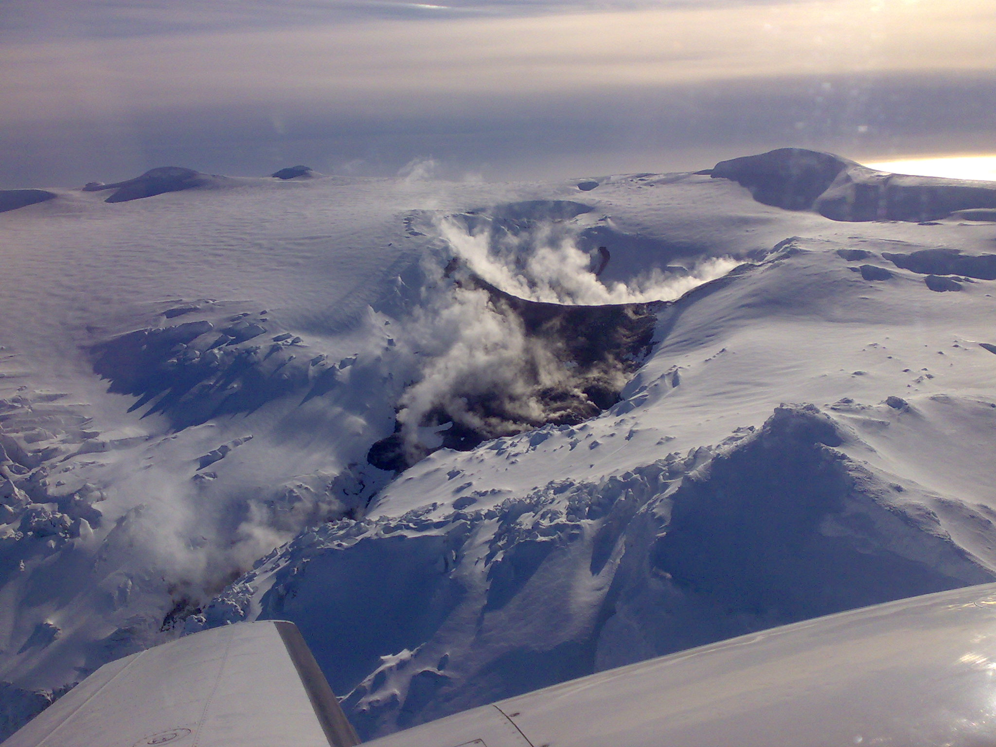 Eyjafjallajokull Is An Active Volcano Covered By A Glacier In South Iceland