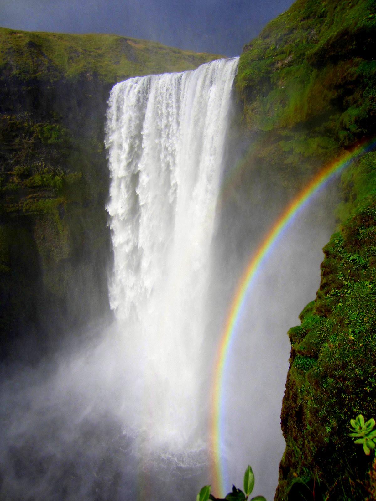 The Beautiful Waterfalls of South-Iceland; Seljalandsfoss ...