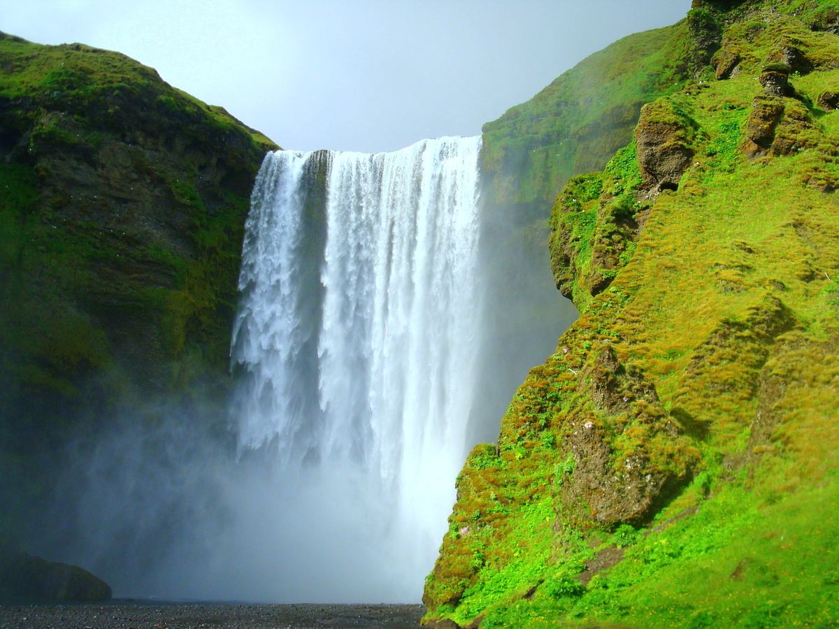 The Beautiful Waterfalls Of South-Iceland; Seljalandsfoss