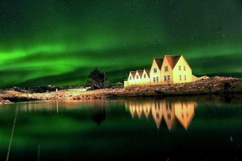 冰島黃金圈北極光