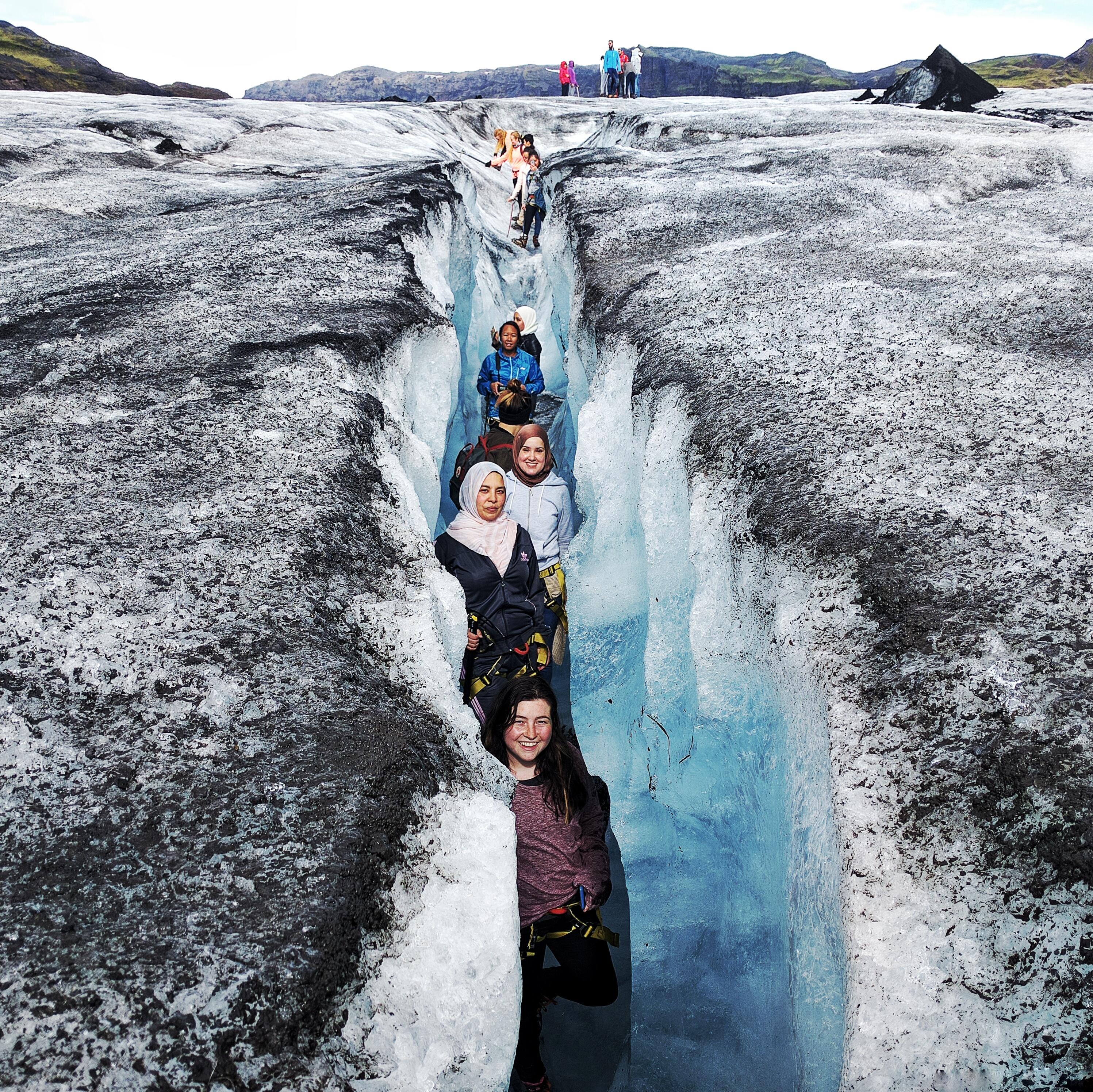 Solheimajokull Glacier Walk