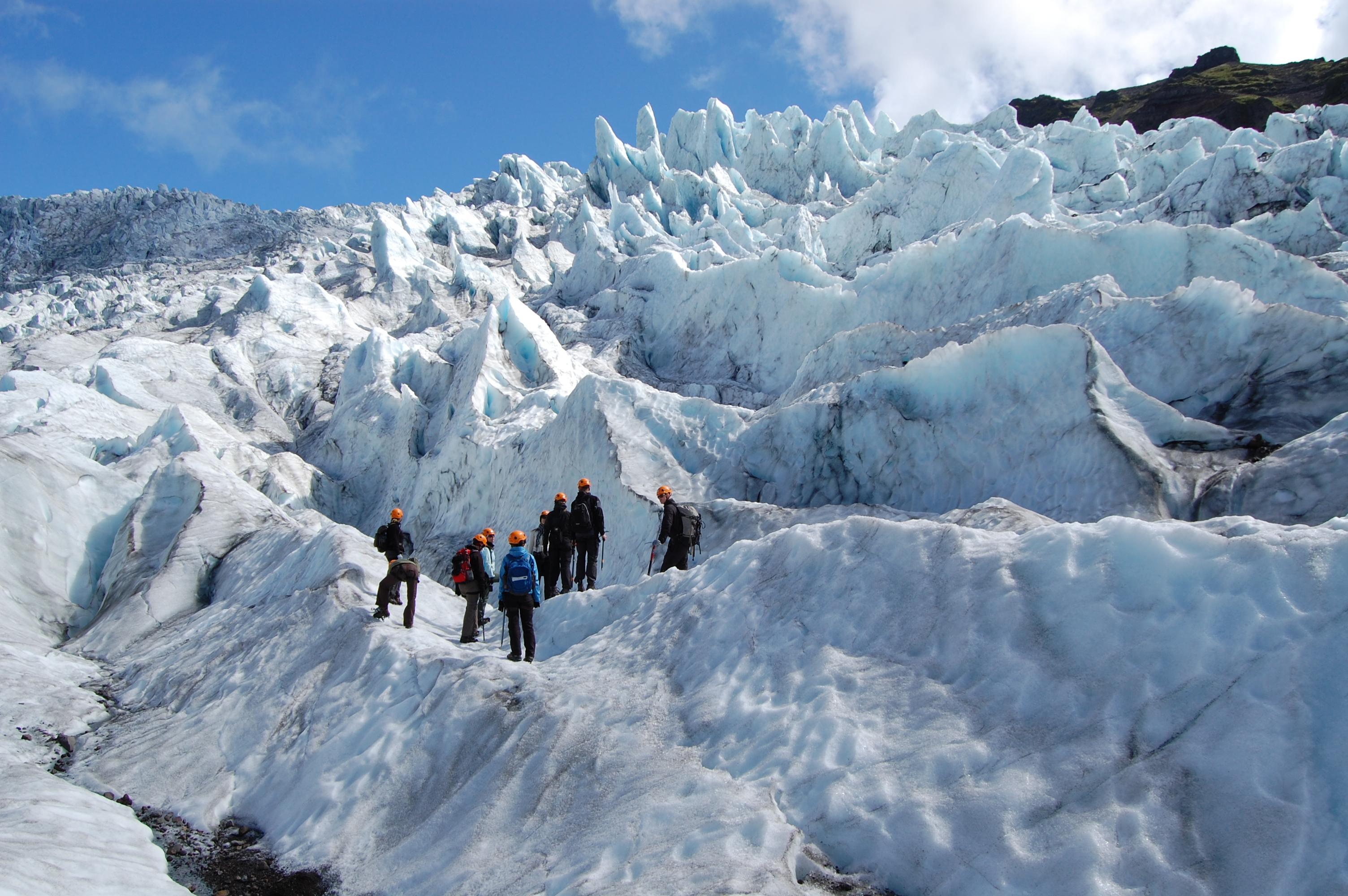 Vatnajokull Glacier Adventure Skaftafell National Park
