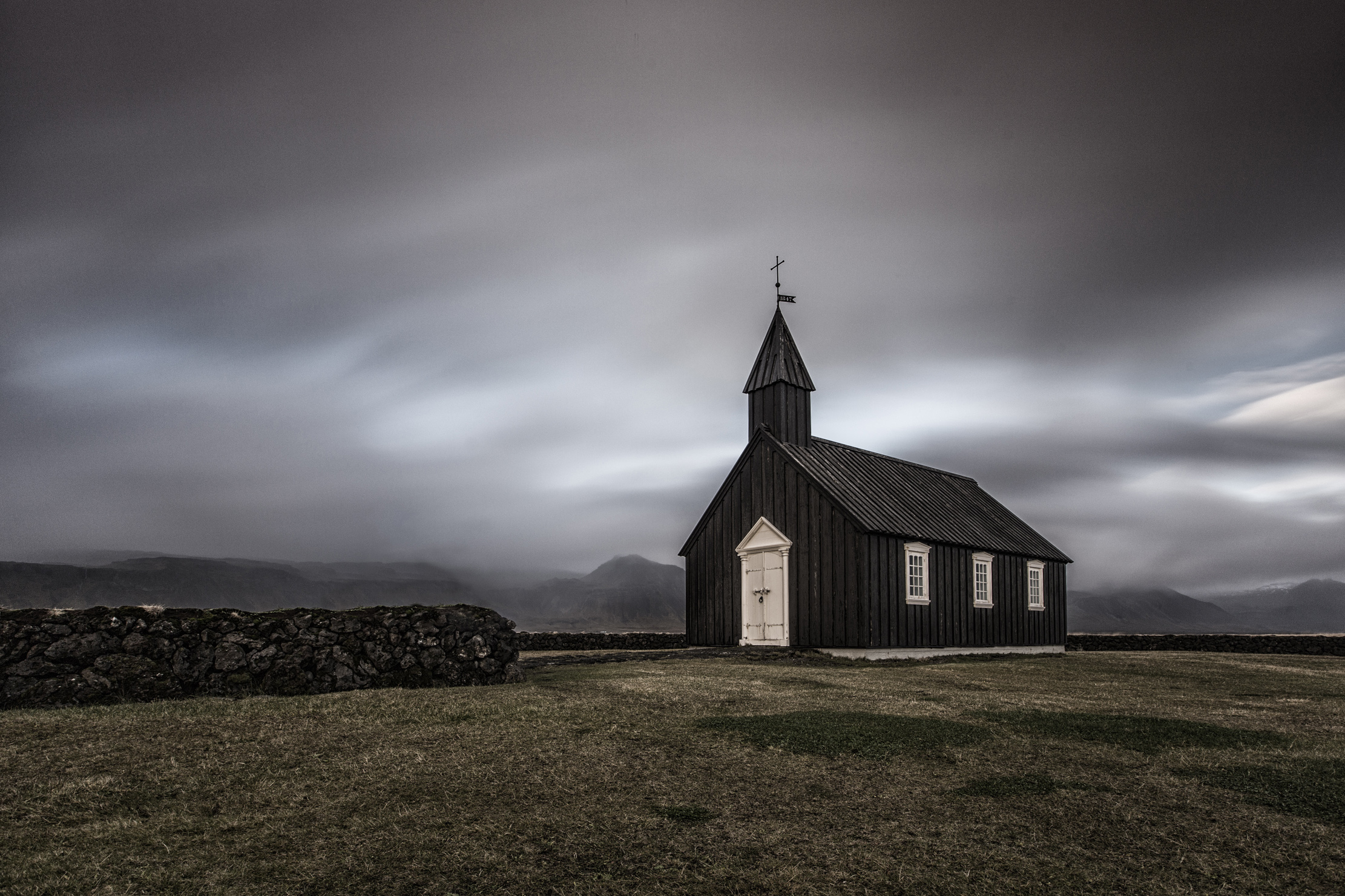 Book Cover Photography Locations : The black church of budir as a photography location