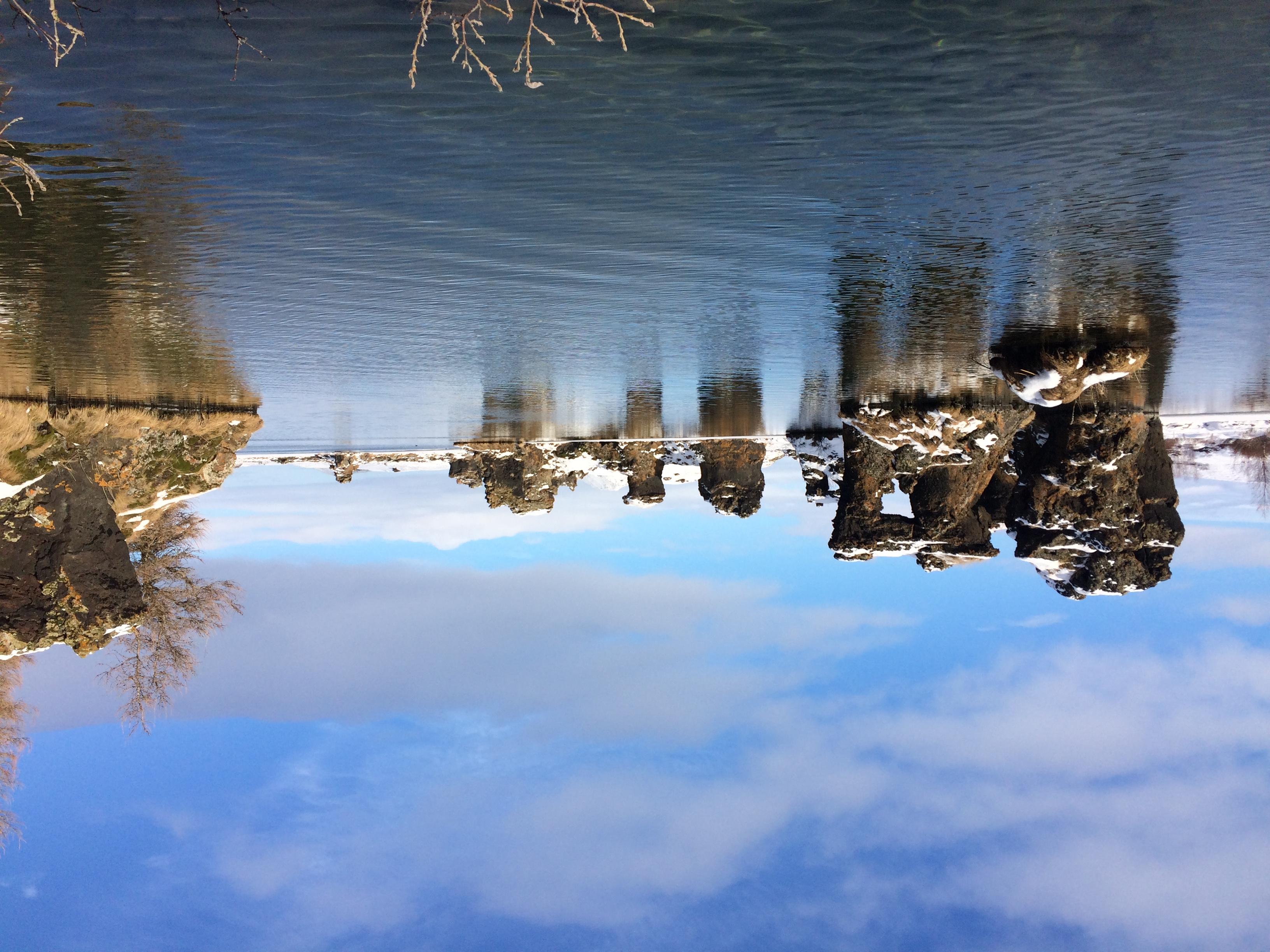 Der See Ist Ziemlich Flach Und Das Wasser Sah Im Sonnenlicht Beinahe Warm  Und Einladend Aus   Reinfallen Sollte Man Aber Dennoch Nicht.