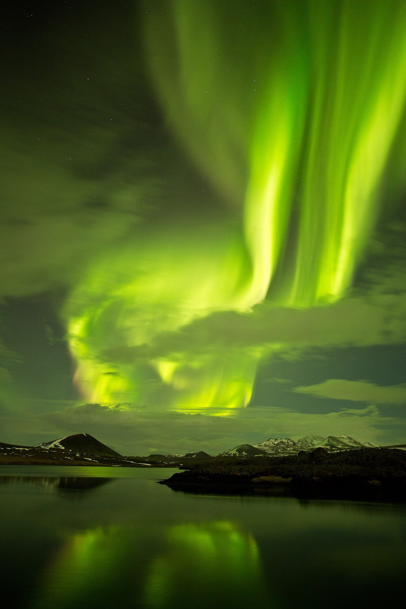 Magical Northern Lights By Super Jeep Guide To Iceland
