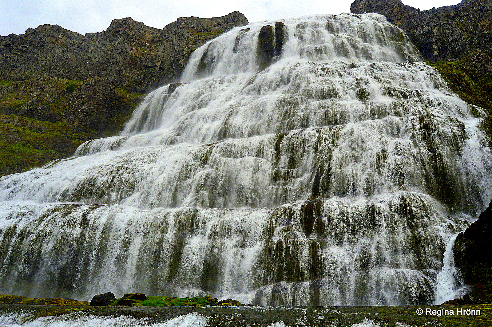 The magnificent dynjandi waterfall the jewel of the for Waterfall it