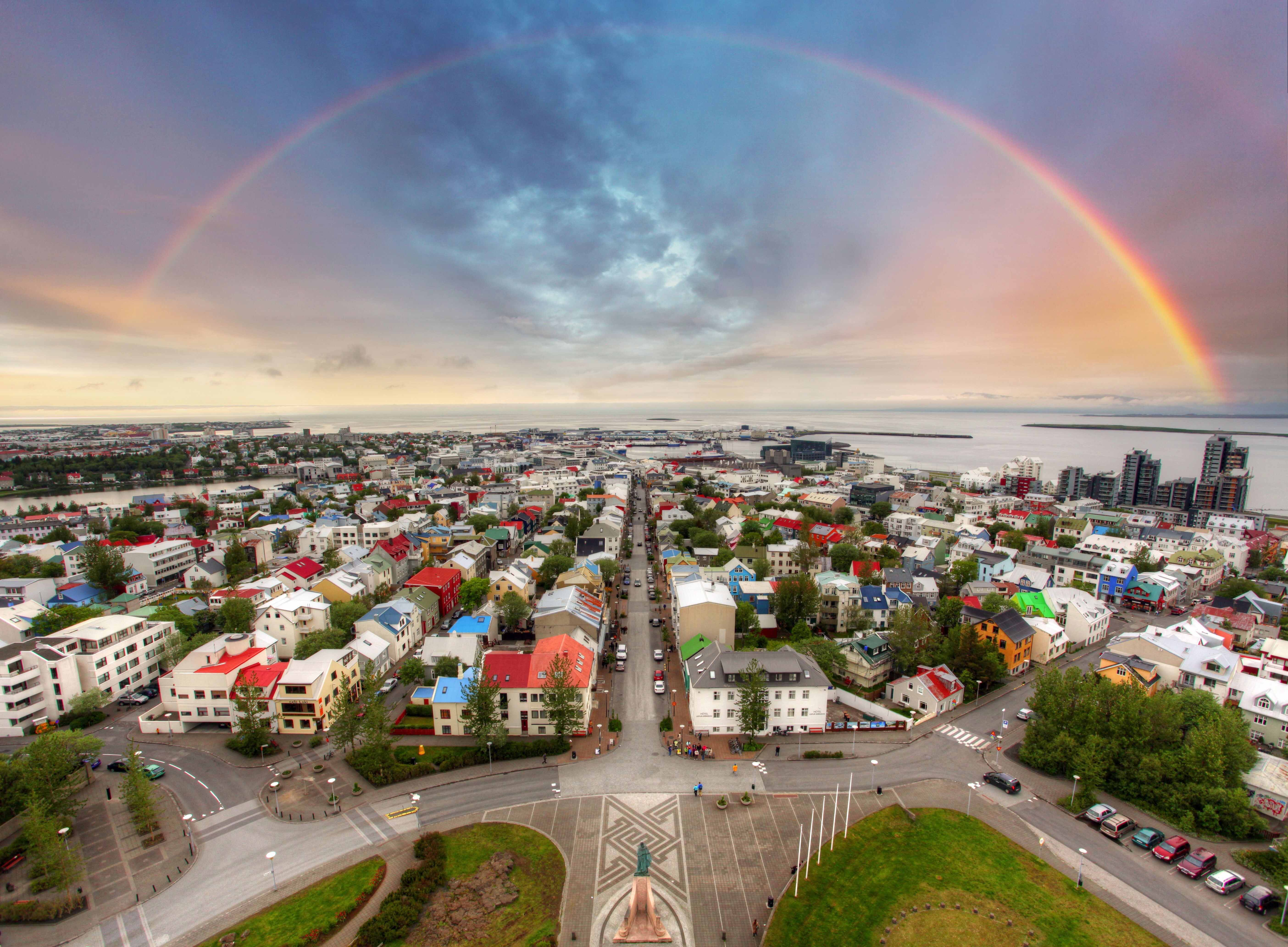 The church is open to visitors all year round, and from its tower one can  enjoy an impressive view of the entire Greater Reykjavík Area.