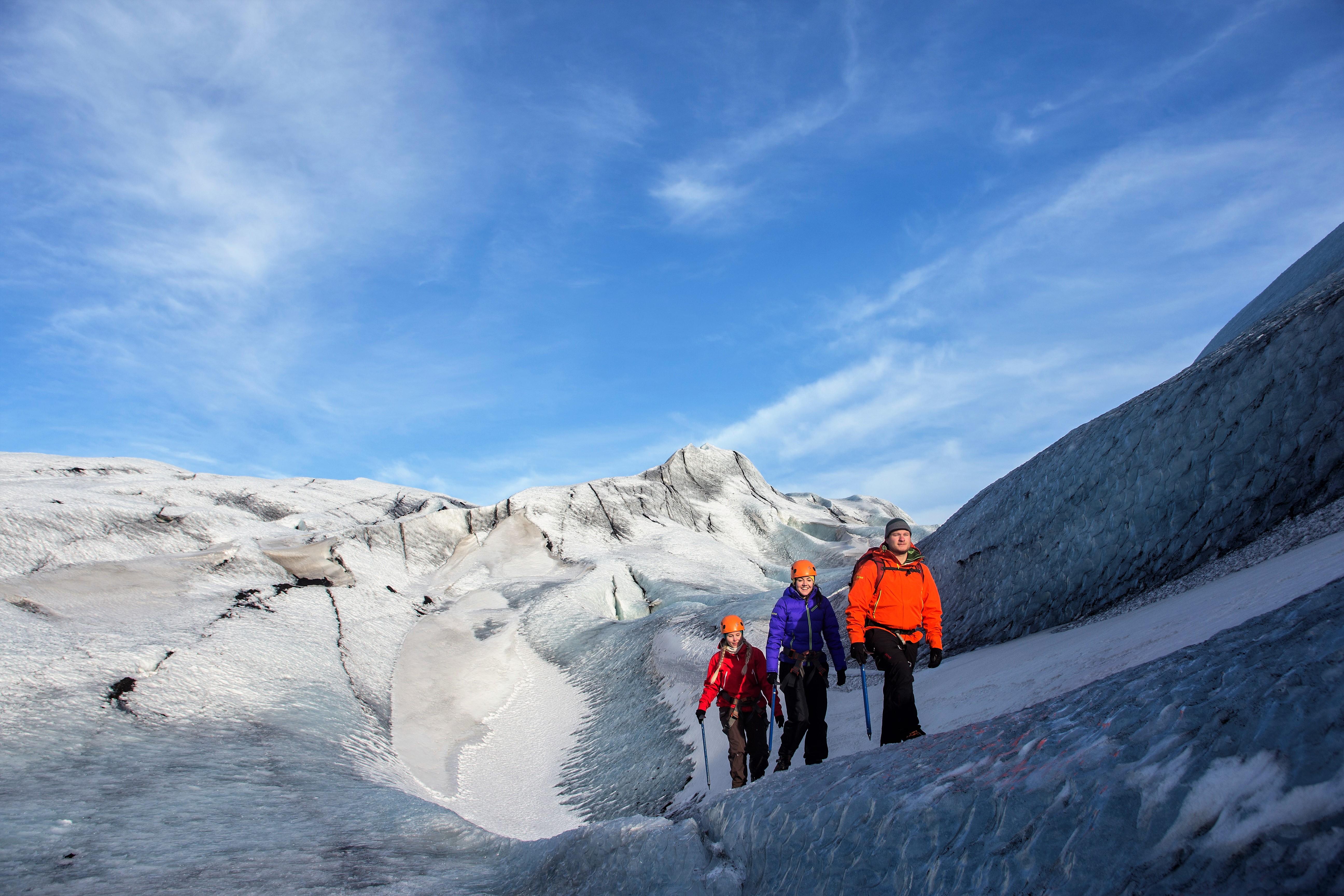 Reykjavik Glacier Hike Tour