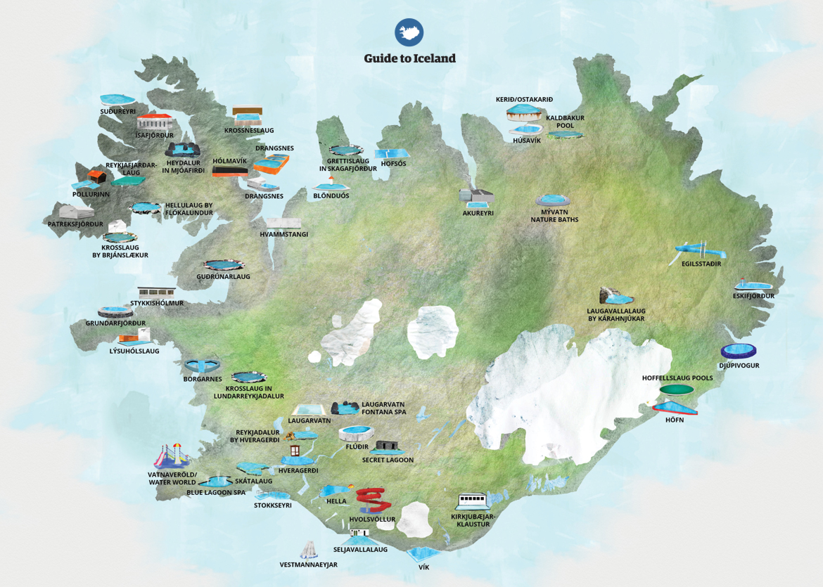 Maps of iceland guide to iceland every small town in iceland will have a swimming pool the greater reykjavk area has a whopping 17 of them in addition to the swimming pools gumiabroncs Images