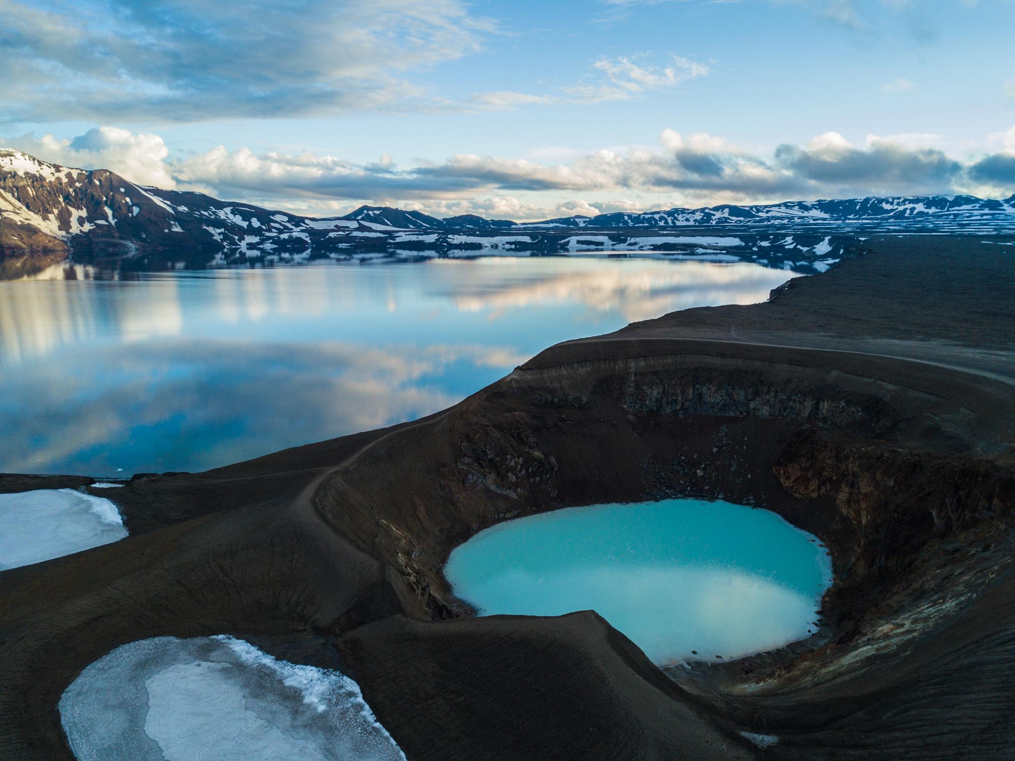 冰島北部Askja火山攻略