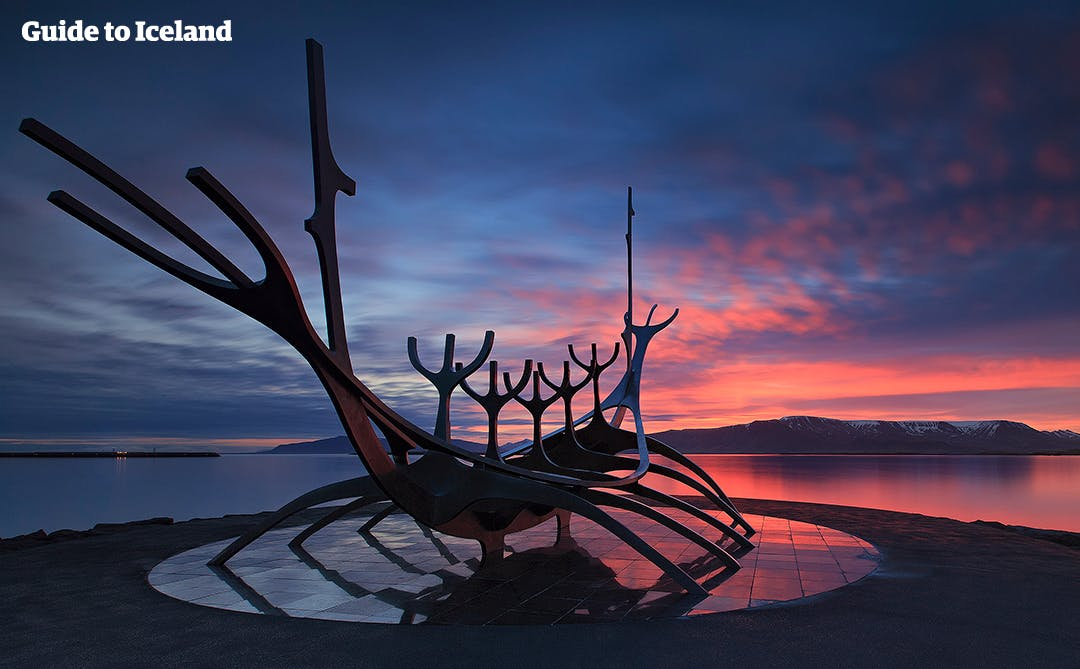Image result for icelandic sculpture sun voyager