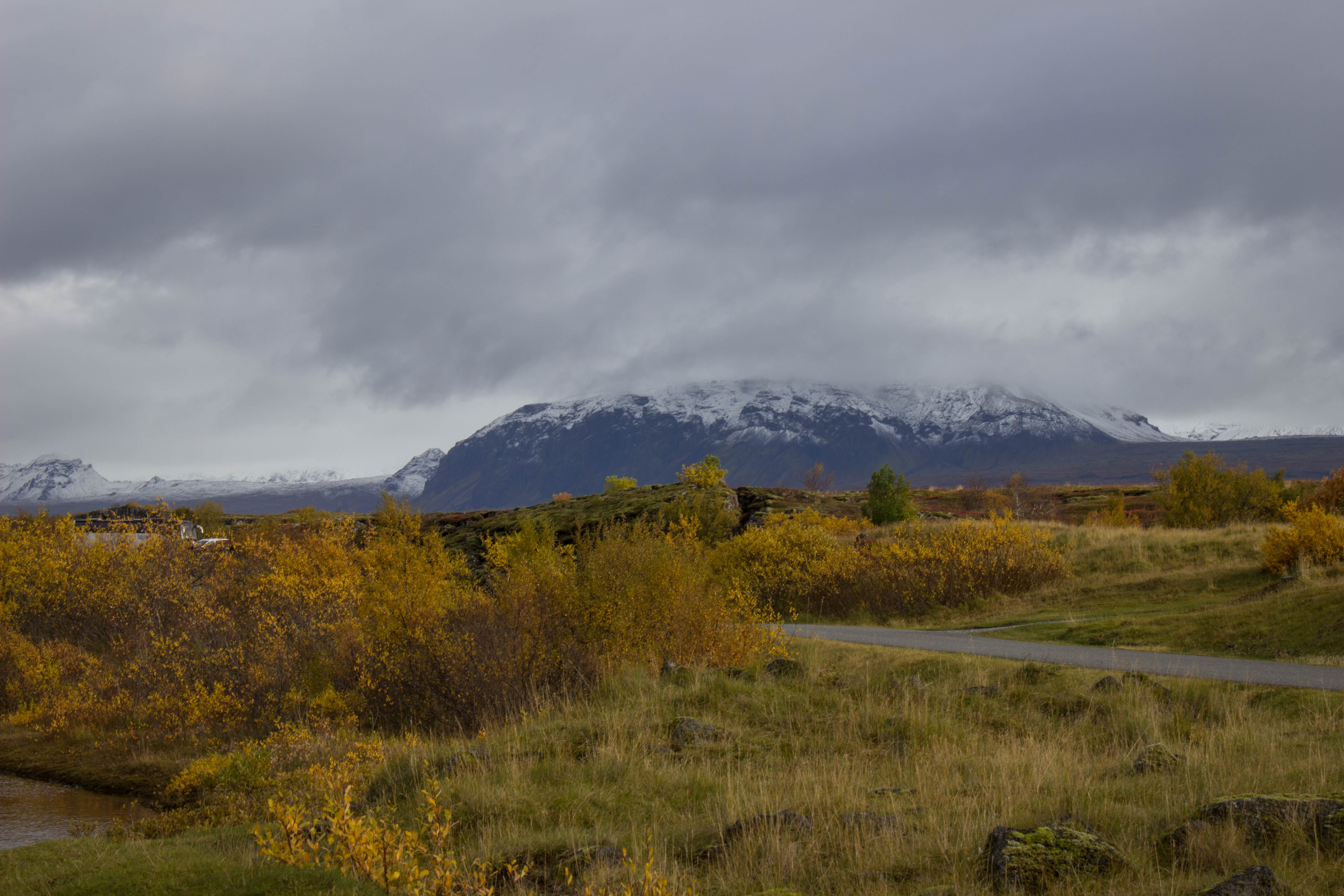 冰島辛格維利爾國家公園的山