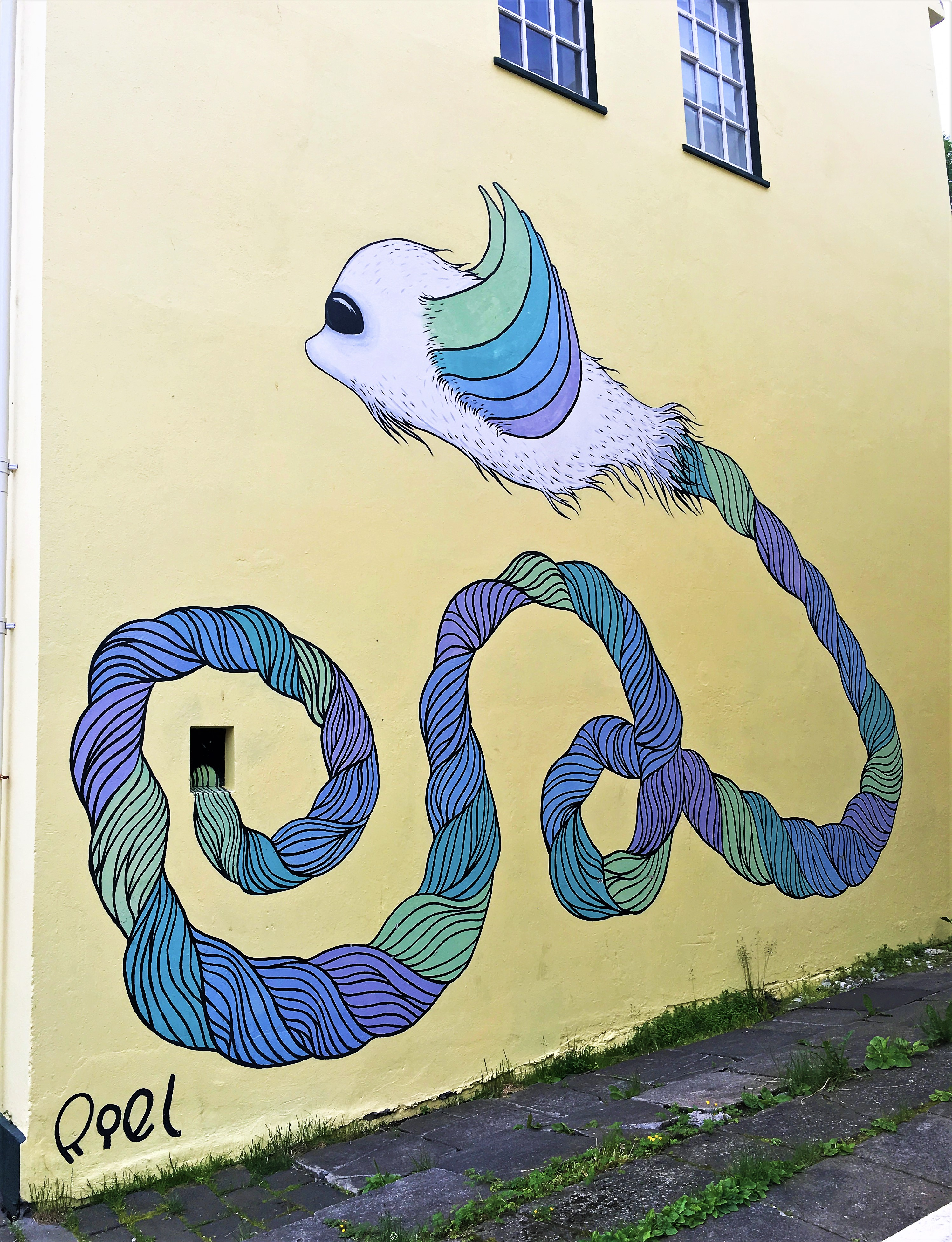 Graffiti and Street Art in Reykjavík   Guide to Iceland