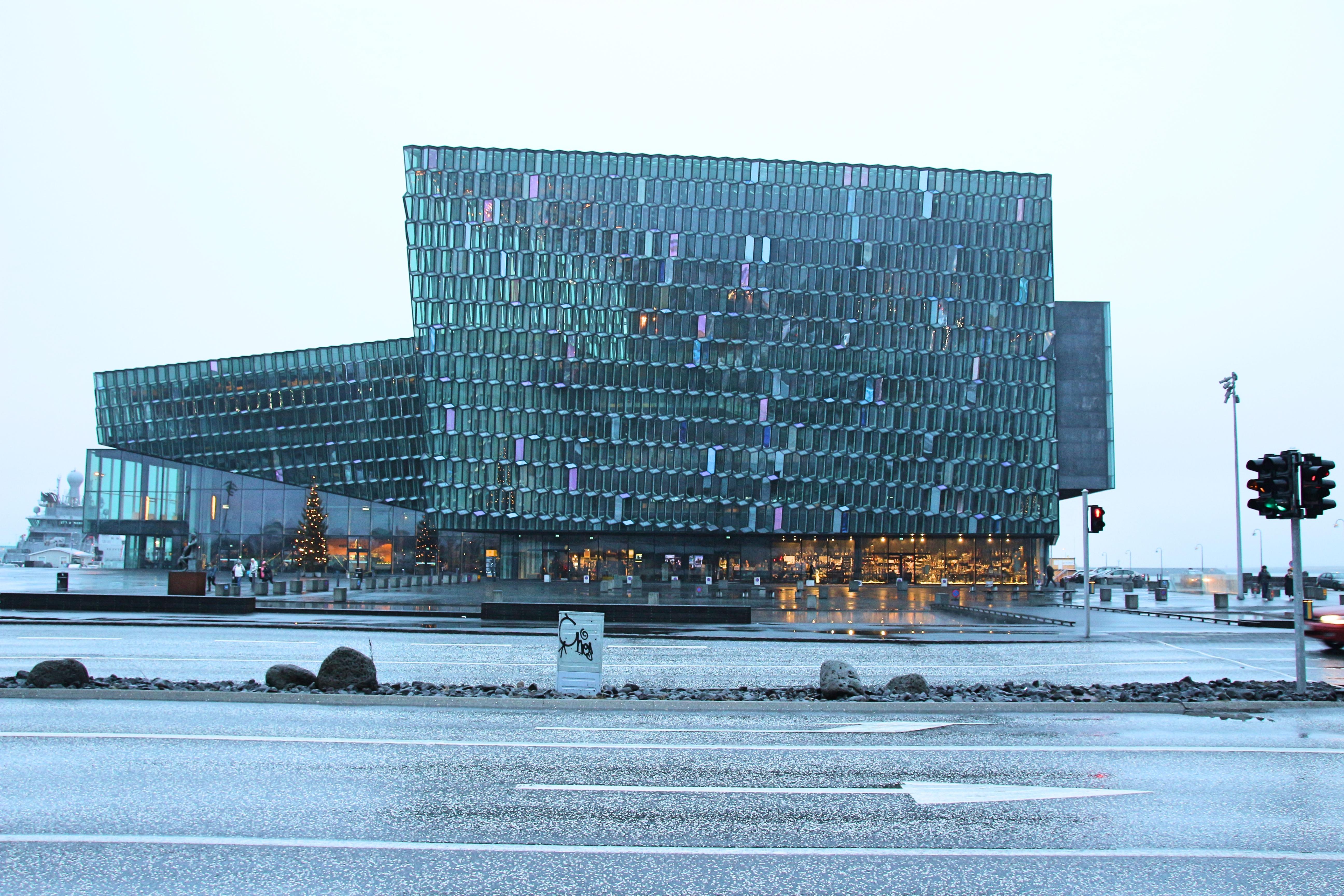 Harpa Concert Hall, Reykjavik, Iceland. Credit: eatsleeplovetravel.com