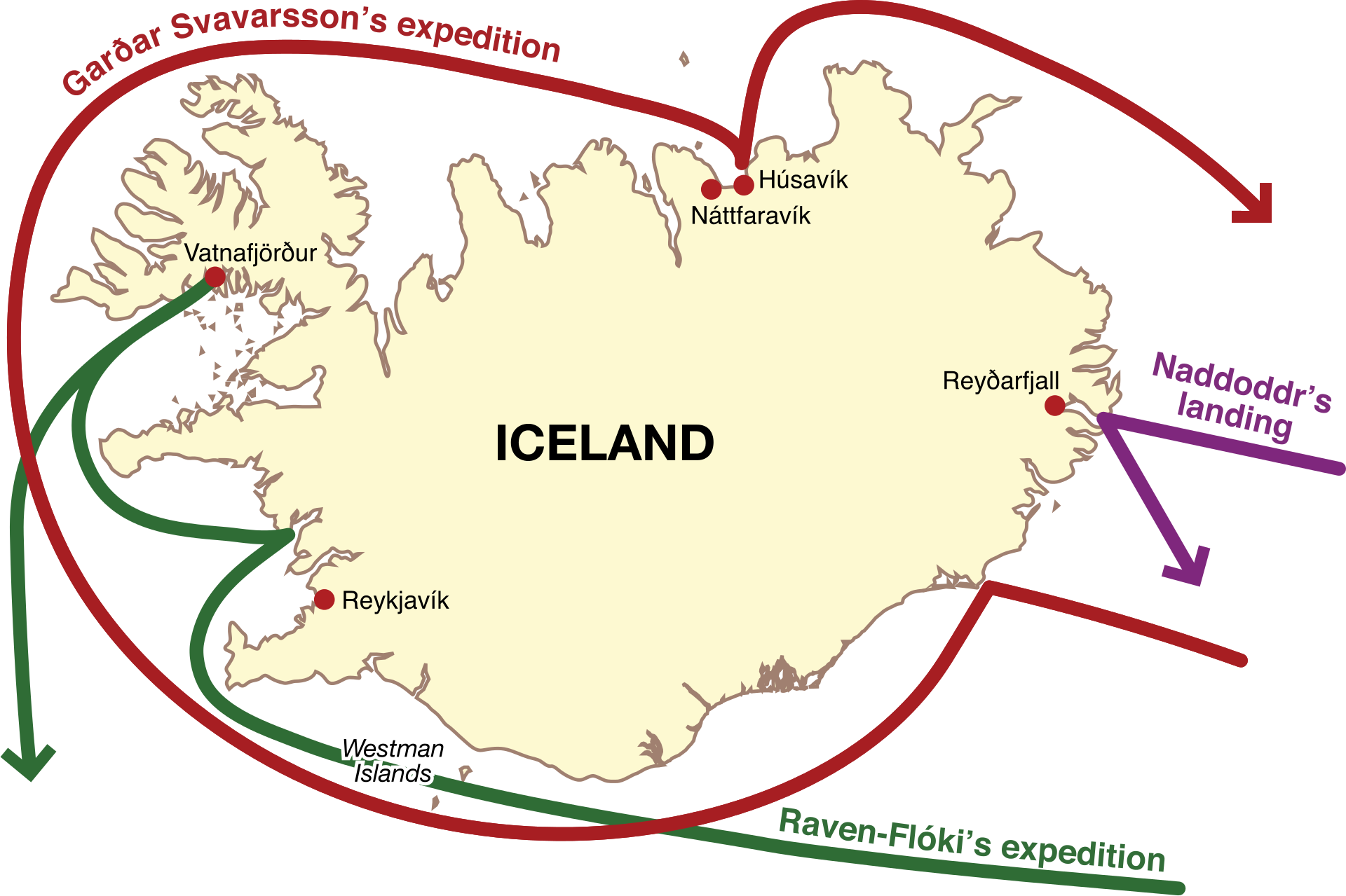 Where Did Icelanders Come From? | Guide to Iceland