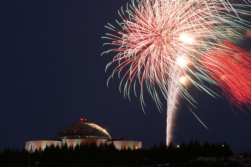 New Year S Dinner At Perlan Bonfire Amp Fireworks Tour