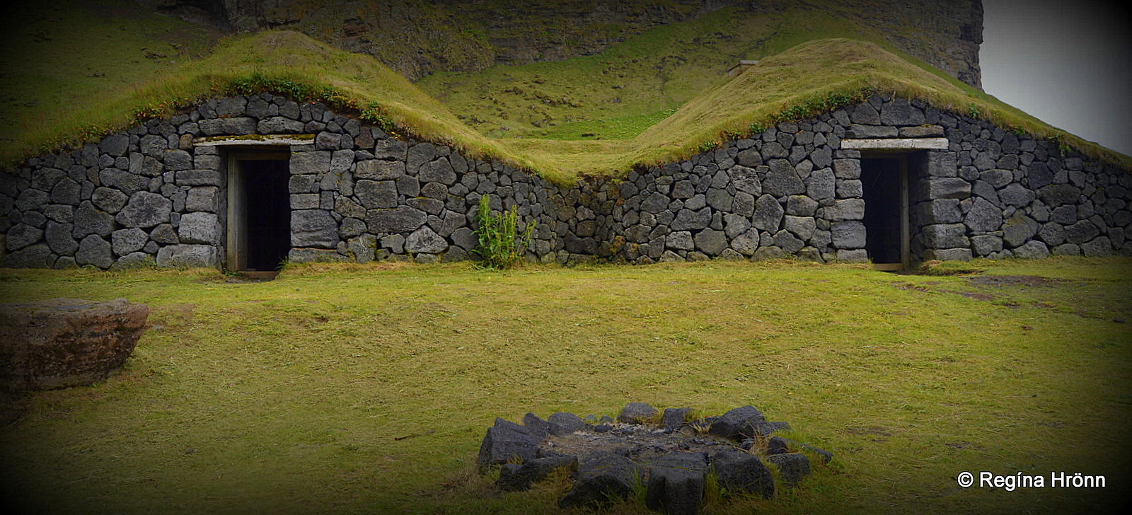 Herjólfsbærinn - Herjólfur\'s Old Farmstead in the Westman Islands
