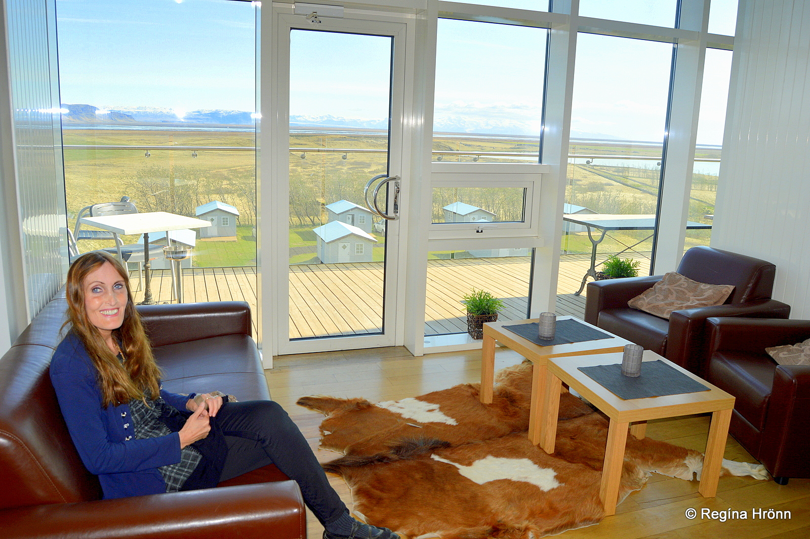 You Can Go Up To The Roof Of Hotel Laki Where There Is A Beautiful View And  A Glasshouse, From Which One Can Watch The Northern Lights On Winter Nights. Awesome Ideas