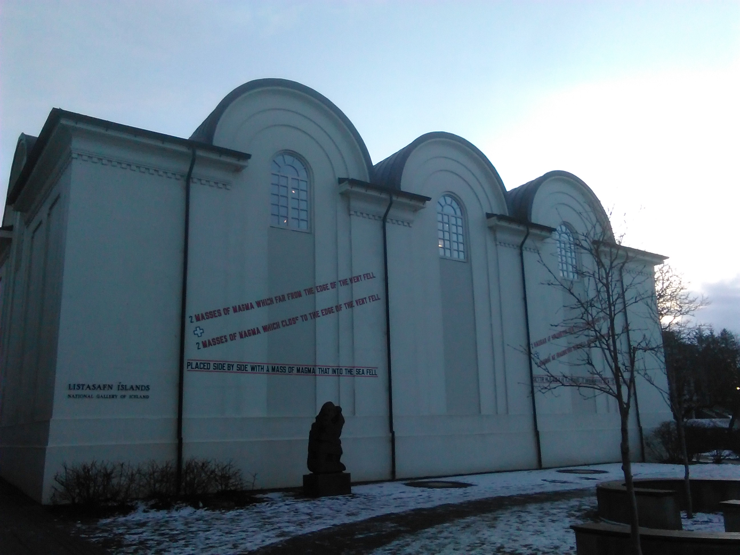 Much like Hafnarhús, The National Gallery of Iceland is located in an  amazing historic building. Constructed in 1916 as an icehouse the building  itself went ...