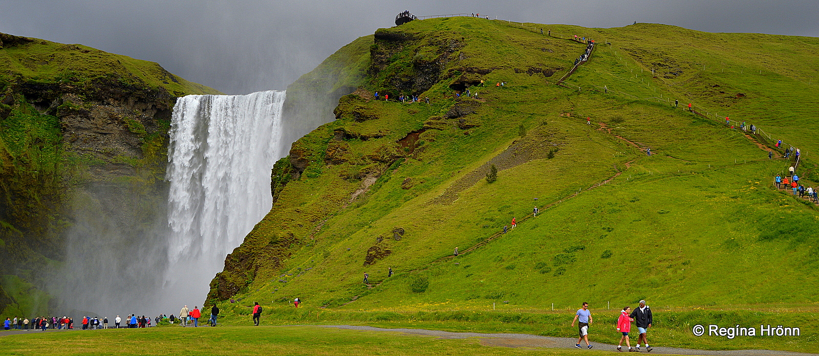 The Beautiful Waterfalls Of South Iceland on Icelandic Turf House