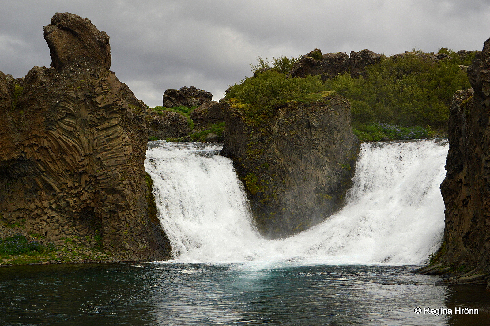 The amazing Háifoss Fall and the beautiful Waterfalls in ...