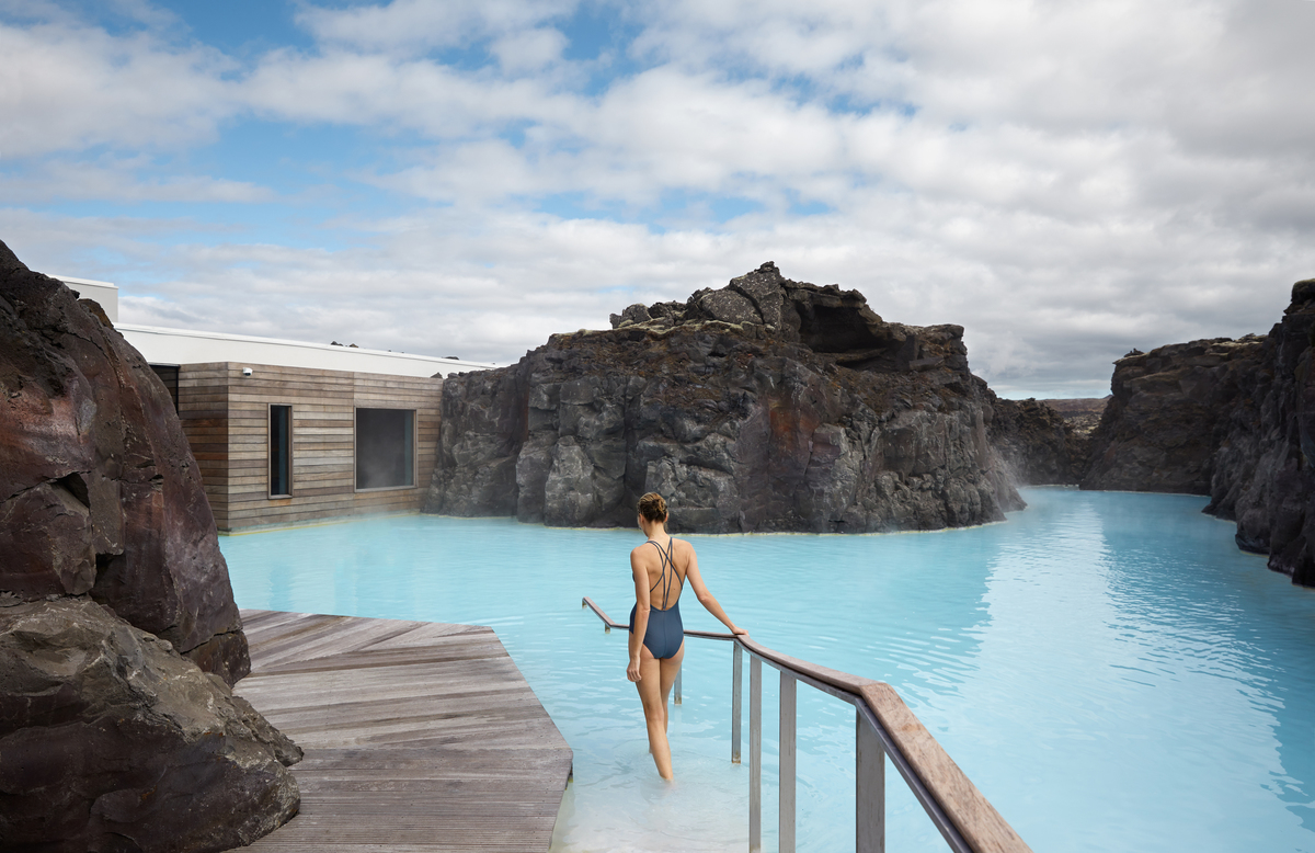 The Entire Retreat Spa Is Subterranean And Very Exclusive A Four Hour Visit Includes Access To Lagoon Blue