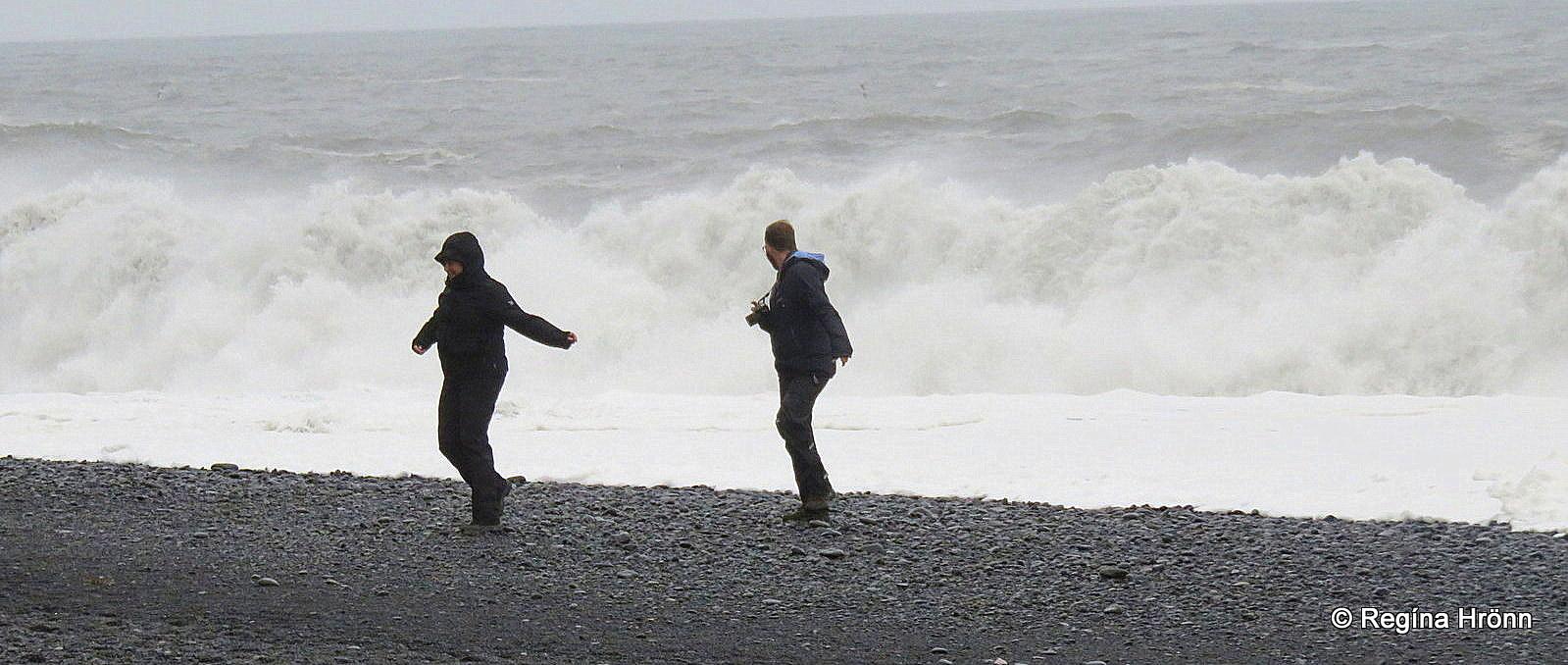 3d9672c6e Extremely dangerous Waves by Reynisfjara and Kirkjufjara black ...