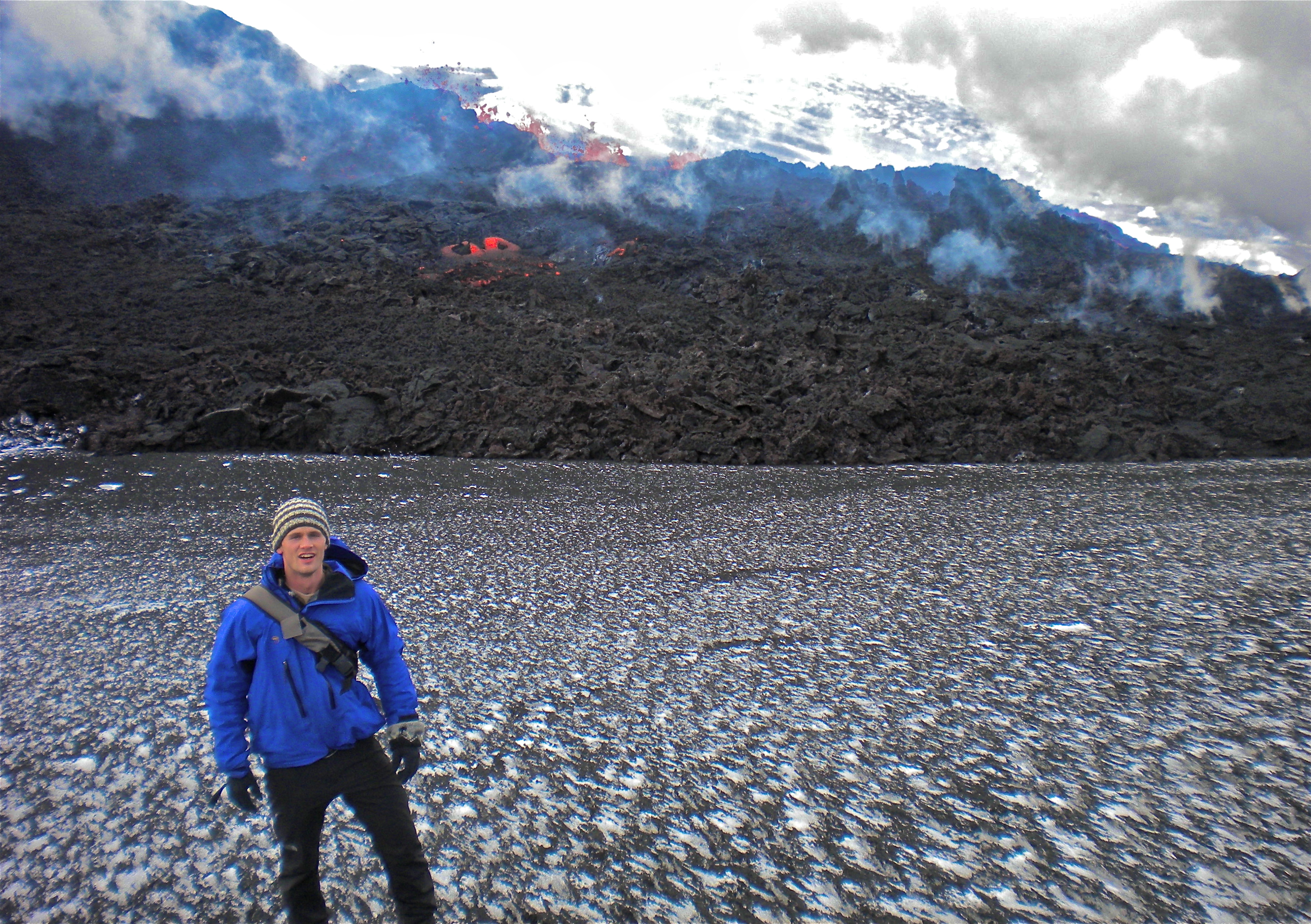 Volcano Tourism In Iceland